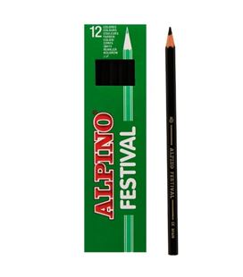 Pintura madera negro 12 unidades festival alpino c0130001 406938 - C0130001