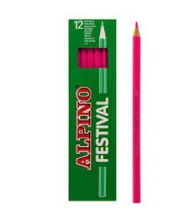 Pintura madera rosa 12 unidades festival alpino c0130004 406969