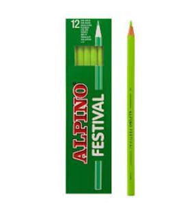 Pintura madera verde claro 12 unidades festival alpino c0130008 407003 - C0130008