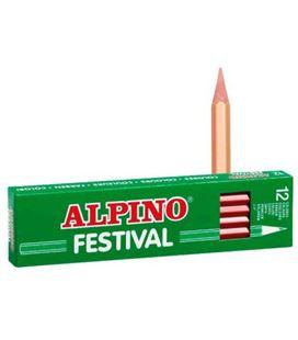 Pintura madera carne 12 unidades festival alpino c0130026 407188 - C0130026