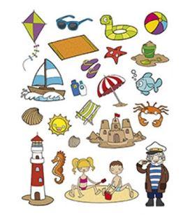 Gomet bolsa figuras la playa 3h apli 11435 - 11435