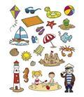 Gomet bolsa figuras la playa 3h apli 11435
