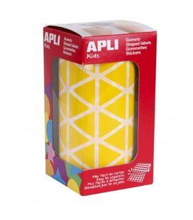 Gomet rollo triangulo grande 20mm amarillo apli 04867 - 04867