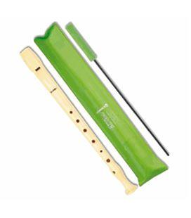 Flauta escolar funda verde hohner b9508