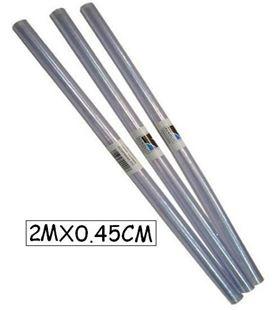 Forro plastico transpa rollo 0,45mtsx2mts renolit 000017 - 12642