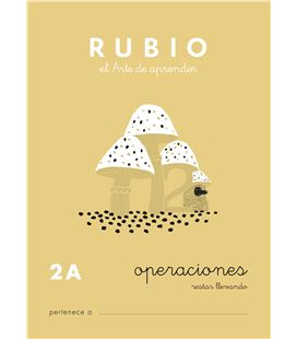 Cuaderno escolar problemas nº2a rubio 10953 - CALCULO 2A CASTELLANO