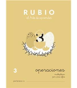 Cuaderno escolar problemas nº3 rubio 10954 - 3 CALCULO CASTELLANO-1 COPIA