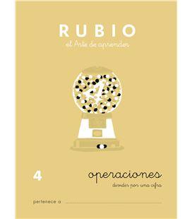 Cuaderno escolar operaciones nº4 rubio 10956 - CALCULO 4 CASTELLANO-1 COPIA