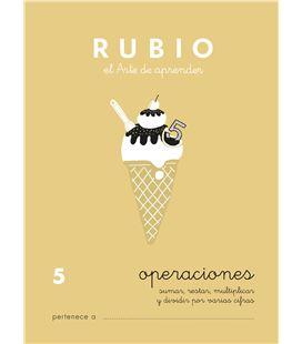 Cuaderno escolar operaciones nº5 rubio 10958 - CALCULO 5 CASTELLANO-1 COPIA
