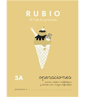 Cuaderno escolar problemas nº5a rubio 10959 - CALCULO 5A CASTELLANO-1 COPIA