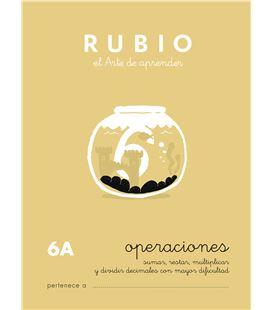 Cuaderno escolar operaciones nº6a rubio 10961 - CALCULO 6A CASTELLANO-1 COPIA