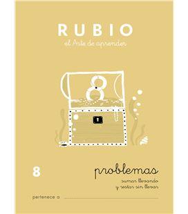 Cuaderno escolar problemas nº8 rubio 10963 - CALCULO 8 CASTELLANO-1 COPIA