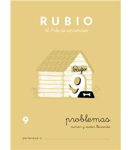 Cuaderno escolar problemas nº9 rubio 10964 - CALCULO 9 CASTELLANO-1