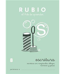 Cuaderno escolar escritura 8 rubio 10931 - ESCRITURA 8