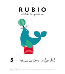 Cuaderno escolar preescolar 5 rubio 10944 - EDUC.INFANTIL 5