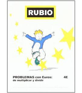 Cuaderno escolar problemas euros 4e rubio 10979 - 109791