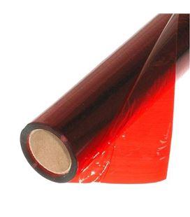 Papel celofan 50x65 25h rollo rojo sadipal 12501