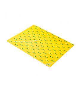 Papel seda 51cmsx76cms 25h amarillo sadipal 11136