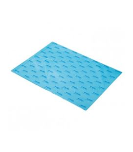 Papel seda 51cmsx76cms 25h azul palido sadipal 11130