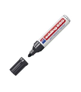 Rotulador permanente 3-4mm negro 550 edding 550-01