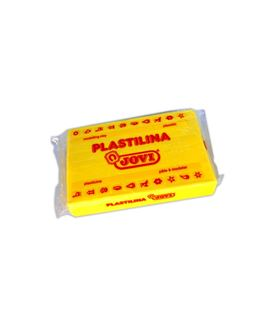 Plastilina 350 grs amarilla claro jovi 72/02