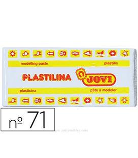 Plastilina 150 grs blanca jovi 71/01
