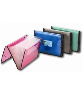 Clasificador pp a4 goma rojo (fucsia) folder 134-tb