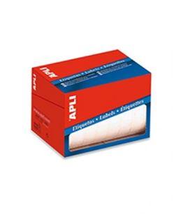 Etiqueta rollo 34mmx67mm blanca 600u apli 1695 - 01695