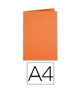 Subcarpeta a4 250grs naranja c.50 gio 400040486
