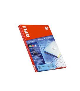 Etiqueta poliv. a4 100h 105mmx70mm 800u c/r/b apli 1292 - 1292
