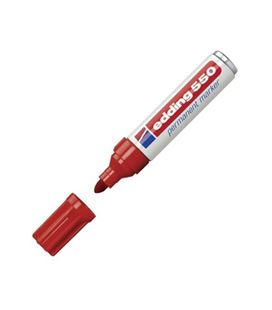 Rotulador permanente 3-4mm rojo 550 edding 550-02 - 550-02