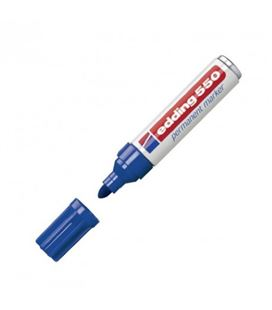 Rotulador permanente 3-4mm azul 550 edding 550-03