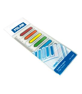 Nota adhesiva posit marcapagina neon 8 colores milan 419608 - 419608