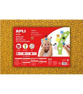 Goma eva impresa leopardo 40x60cm apli 13410 - 111893