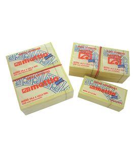 Notas adhesivas amarillo 100h 38x51 pack 12 blocs mattio
