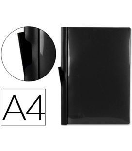 Dossier pinza pp a4 60hj negro liderpapel - 26900