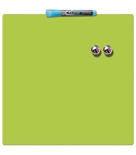 Pizarra hogar magnética 360x360mm verde quartet