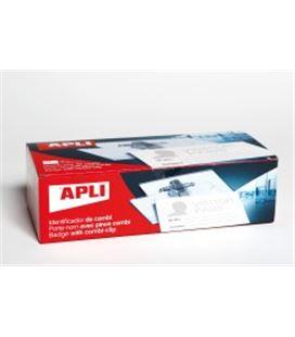 Identificador combi (imperdible y pinza) 25 uds. apli 11746 - AP11746
