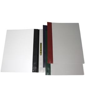 Dossier fastener metal foliolio ro pvc 150 mic lomo recto grafolioplas 05031551 - 05031551