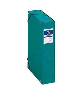 Carpeta proyectos 7cms verde carton foliorrado office dohe 09738