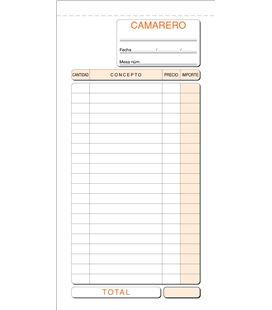 Talonario camarero 210mmx110mm original+copia loan t-100 - T100