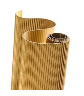 Carton ondulado 50x70cm oro brillo 5u. sadipal 05821 - 113867
