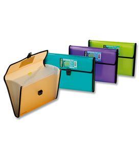 Clasificador pp a4 broche violeta folder. 154-v - 154-2