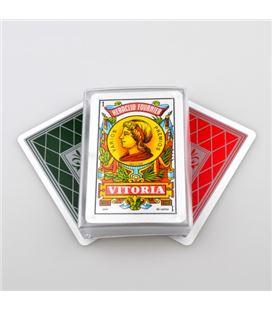 Baraja cartas español caja plastico nº27 c.40 foliournie 20983 - 20983