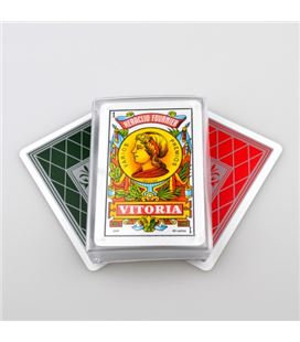 Baraja cartas español caja plastico nº27 c.40 fournie 20983 - 20983