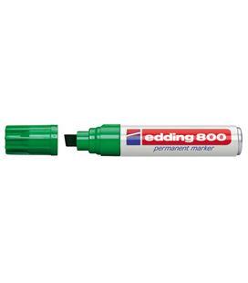 Rotulador 800 punta biselada recarg verde edding 800-04 - 191017