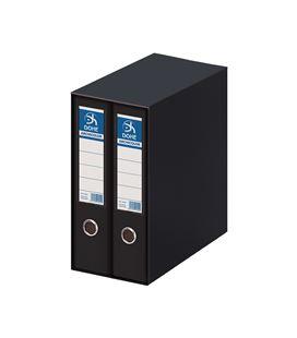 Modulo 2 archivador palanca fº 70mm negro archic. dohe 90132