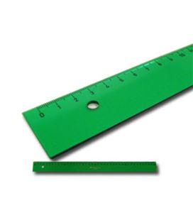 Regla 20cms verde faber castell 812
