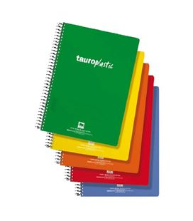 Cuaderno 4º nº46 80h 90grs pp tauroplastic 6485/46-90 064841 - 6485 46-90