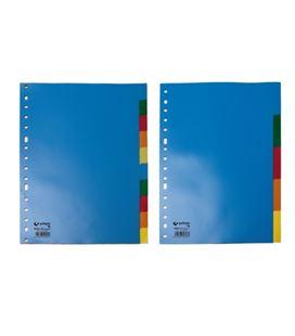 Separador folio 10 posiciones grafolioplas 44290000